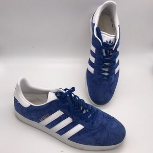 Adidas Men's Blue White Sneakers Size 11